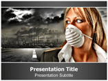 Company Pollution Powerpoint Templates