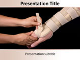 PPT Templates for Hand Plaster