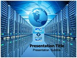 Supercomputers Powerpoint Templates