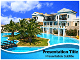 Luxury Resort Powerpoint Templates