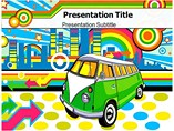 Retro Pop Art Posters Powerpoint Templates