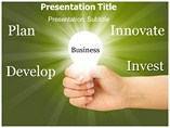 Business Intelligence Template PowerPoint