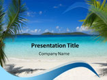 Beach Holiday - PPT Templates