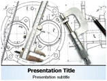 Technical Drawing Symbols Powerpoint Templates