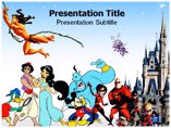Disney Cartoons PowerPoint Templates