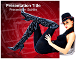 Fashion Model PowerPoint Templates