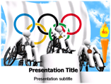 Para Olympic Games PowerPoint Templates