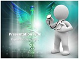 3d doctor PowerPoint Templates