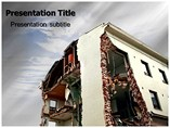 Building Collapse PowerPoint Templates