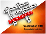 Business Blocks PowerPoint Backgrounds
