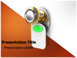 Door Handle PowerPoint Templates