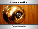 Door Handle Designs PowerPoint Templates