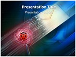 E mail Virus PowerPoint Templates