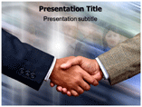 Shaking Hand PowerPoint Theme