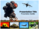 Aerial Bombardment PowerPoint Templates