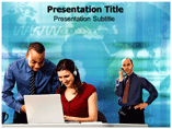 Online Business Communication PowerPoint Templates
