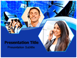 Tele communication Inc PowerPoint Templates