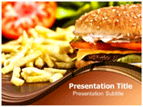 Fast Food PowerPoint Templates