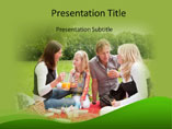 Family Picnic - PPT Templates