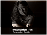 Child Abuse PowerPoint Templates