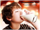 Milk Health PowerPoint Templates
