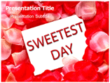 Sweetest day PowerPoint Templates