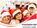 X Mas Family Traditions PowerPoint Templates