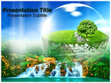 Beauty of The Earth PowerPoint Templates
