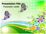 Butterfly Effects PowerPoint Templates