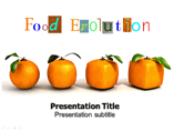 Food Evolution Catering PowerPoint Templates
