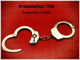 Handcuff Knot PowerPoint Templates