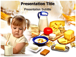 Milk  Products PowerPoint Templates
