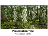Save Forrest PowerPoint Templates