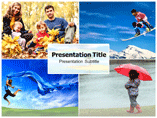 Seasons Change PowerPoint Templates