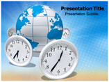 Time Difference PowerPoint Theme