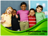 Child Diversity Issues PowerPoint Templates