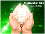 electricity saving PowerPoint Templates