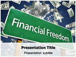 Financial Freedom PowerPoint Templates