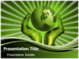 Go Green & Save Earth PowerPoint Templates