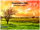 natural beauty PowerPoint Templates