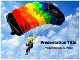 Parachute Tour PowerPoint Templates
