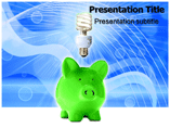 Save Electricity Device PowerPoint Templates