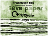 save Paper PowerPoint Templates