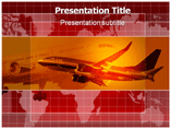 World Airlines PowerPoint Templates