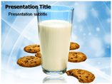 Milk Product PowerPoint Templates