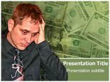 Money Stress PowerPoint Theme