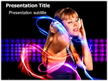 Musical Energy PowerPoint Templates