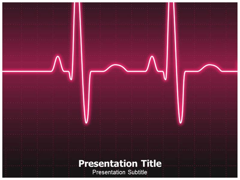 Heart Cancer Animated Template PowerPoint