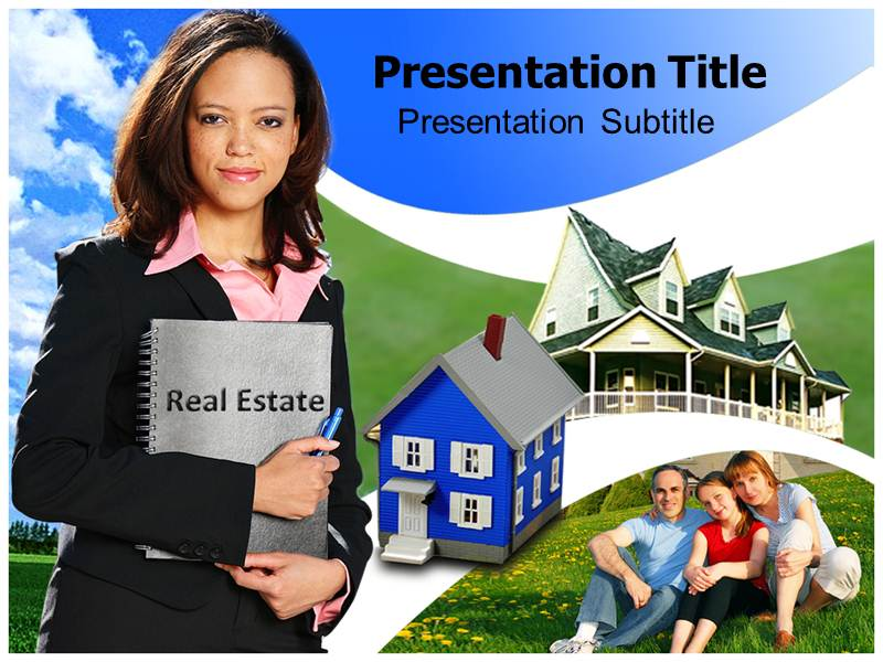 Real Estate Animated PowerPoint Background
