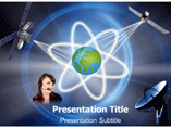 Communication System  PowerPoint Templates